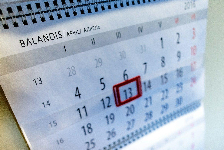 2016 m. balandžio mėn. mokesčių kalendorius