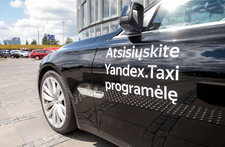 """Vilniaus savivaldybė lauks VSD informacijos dėl """"Yandex  Taxi"""