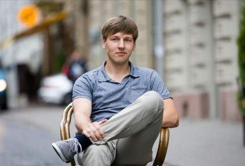 """Sergejus Oleškevičius, interneto parduotuvės """"vyriskipapuosalai.lt"""" įkūrėjas."""