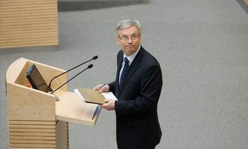 Rimantas Šadžius, finansų ministras