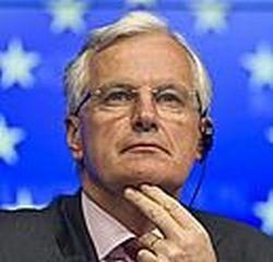 Michelis Barnier, už vidaus rinką ir paslaugas atsakingas EK narys.