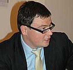 """Žilvinas Mecelis, Didžiosios Britanijos ir Lietuvos bendrosios įmonės """"Covalis Capital"""" įkūrėjas."""