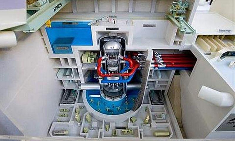 Visagino atominės elektrinės reaktoriaus maketas.