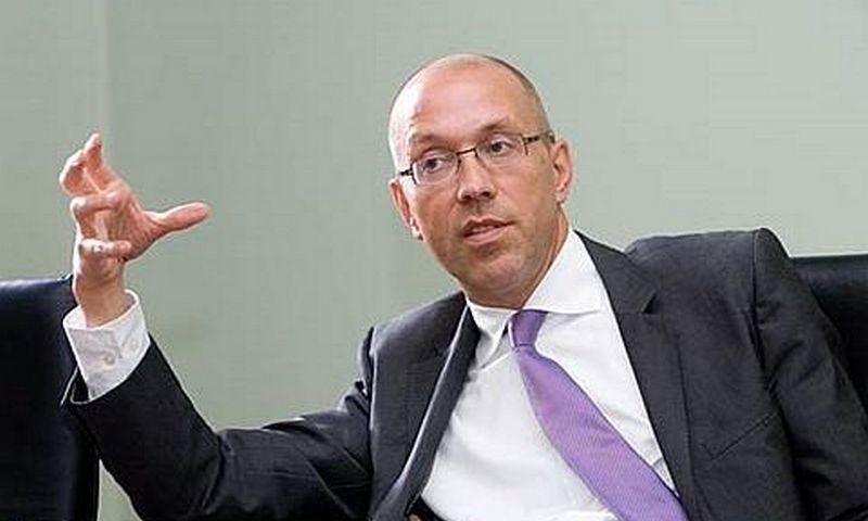 Jörg Asmussen, Europos centrinio banko vykdomosios valdybos narys.