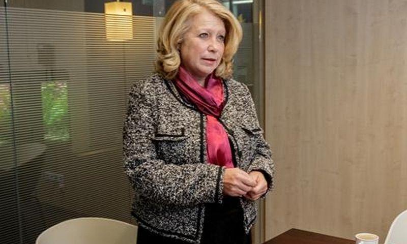 """Cynthia Pasky, Lietuvoje veikiančios JAV personalo paieškos bendrovės """"Strategic Staffing Solutions"""" kūrėja ir prezidentė, viena Lietuvos investicijų patarėjų komisijos narių."""