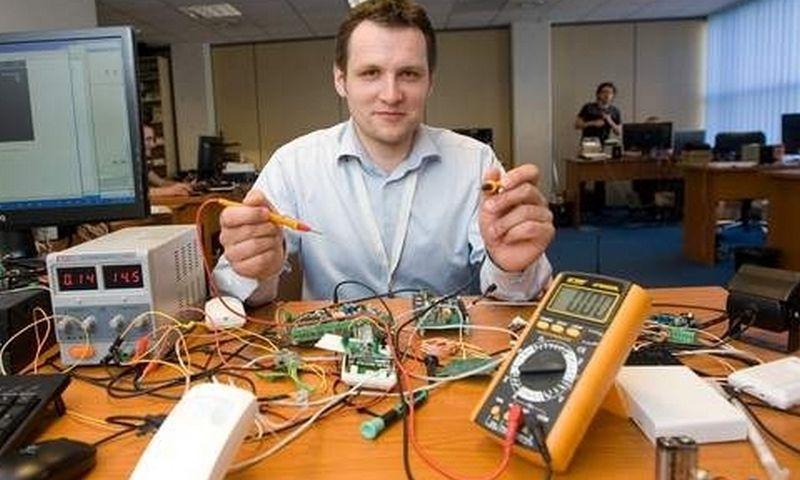 "Rolandas Dranseika, elektronikos UAB ""Eldes"" direktorius."