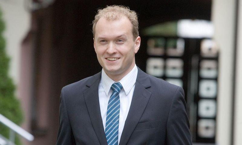 """Martynas Rūkas, verslo konsultacijų UAB """"Propius Consulting"""" direktorius."""
