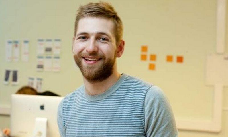 """Tomas Dirvonskas, mobiliųjų programėlių kūrimo UAB """"Lemon labs"""" vadovas."""