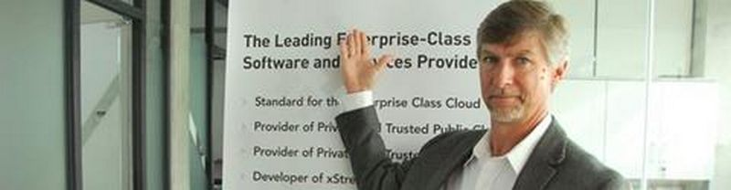 """Vanas Williamsas, JAV informacinių technologijų, debesų kompiuterijos kompanijos """"Virtustream"""" techninis direktorius."""