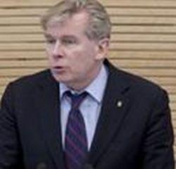 """Audronius Ažubalis, partijos """"Tėvynės sąjunga-Lietuvos krikščionys demokratai"""" frakcijos Seime narys."""