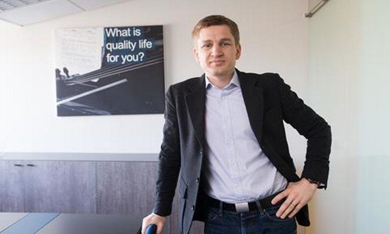 """Marius Čiuželis, finansų patarėjų įmonės UAB """"MC Wealth Management"""" vykdomasis partneris.c"""
