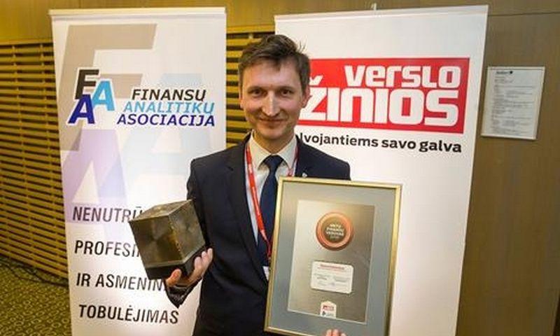 """Darius Kašauskas, UAB """"Lietuvos energija"""" finansų ir iždo direktorius."""
