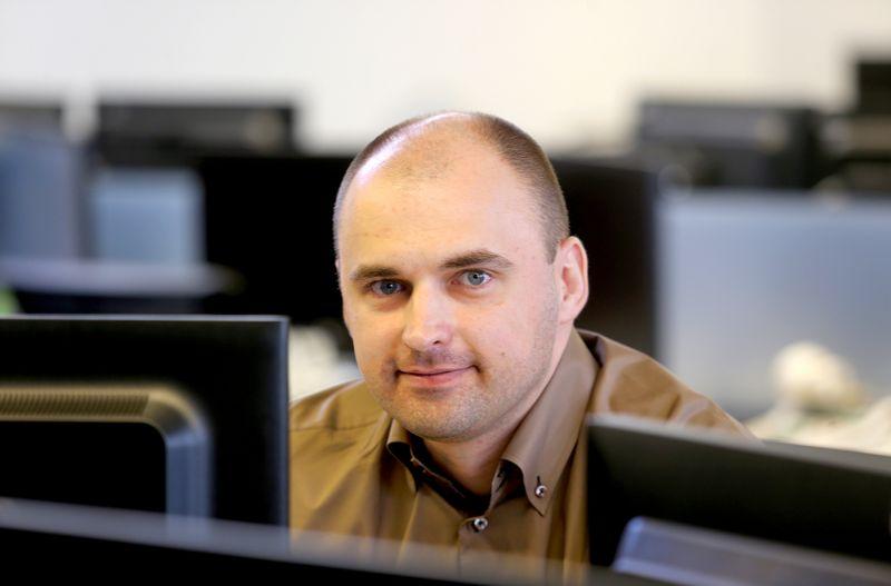 """Karolis Kailiūnas, UAB """"Intermedix Lietuva"""" vyriausiasis naudotojo patirties specialistas. Algimanto Barzdžiaus (VŽ) nuotr."""