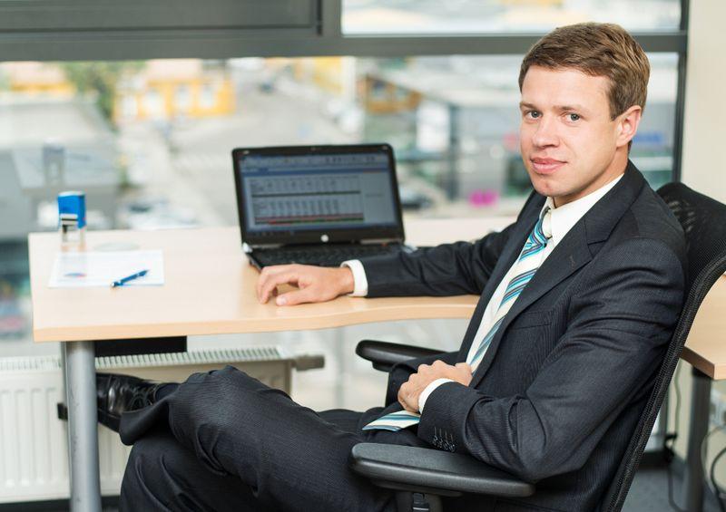 """Arūnas Čiulada, """"Synergy Finance"""" direktorius. Įmonės nuotr."""