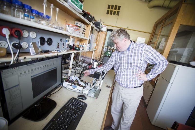 """Dr. Marius Dagys, bioanalitinių sistemų kūrimo ir aptarnavimo UAB """"Bioanalizės sistemos"""" direktorius. Vladimiro Ivanovo (VŽ) nuotr."""