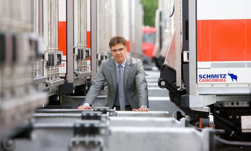"""Raimundas Petrauskas, """"Schmitz Cargobull Baltic"""" generalinis direktorius: """"Darbuotojus reikia treniruoti nebijoti siūlyti savo idėjų."""" Juditos Grigelytės (VŽ) nuotr."""