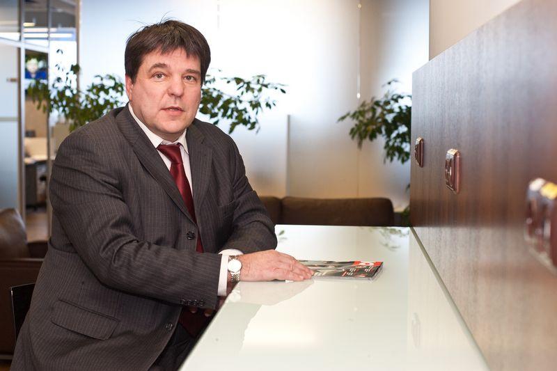 """Dalius Gerulaitis, FMĮ """"Orion Securities"""" finansų makleris. Vladimiro Ivanovo (VŽ) nuotr."""