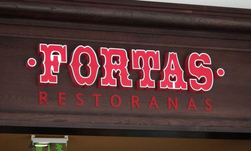 """Dabar restoranų grupė """"Fortas"""" Lietuvoje iš viso valdo 14 restoranų. Vladimiro Ivanovo (VŽ) nuotr."""