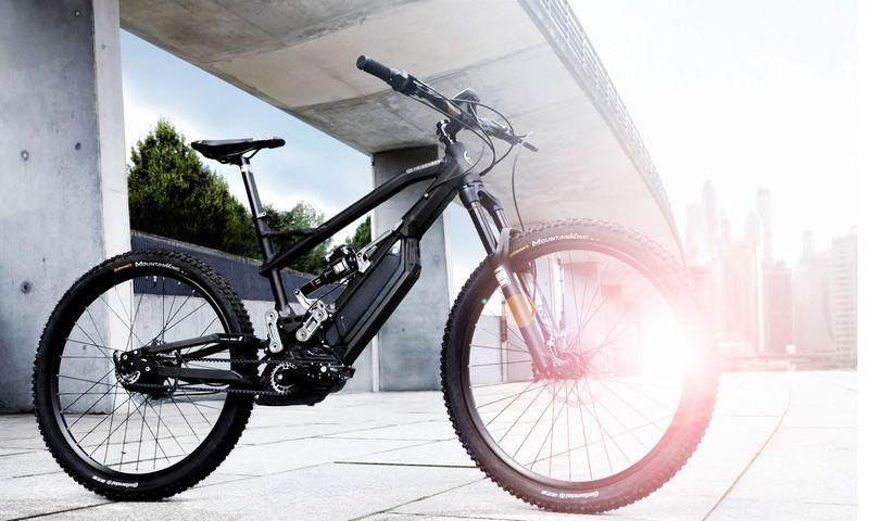 """Vienas iš """"HNF Heisenberg"""" kuriamų elektrinių dviračių. Gamintojo nuotr."""
