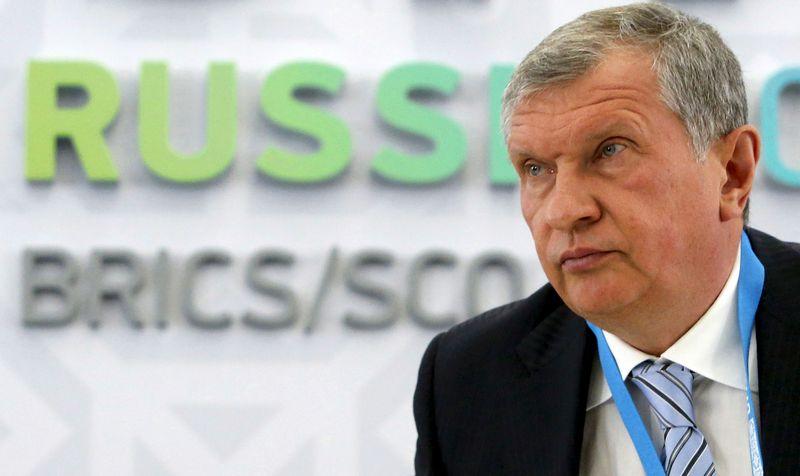 """Igoris Sečinas: """"Rosneft"""" suvokia, kad negali tikėtis didelio finansavimo iš gerovės fondo"""". SERGEJAUS KARPUCHINO (""""REUTERS"""" / """"SCANPIX"""") NUOTR."""