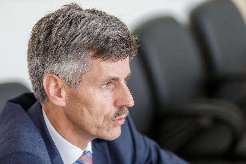 Dalius Gedvilas, Lietuvos statybininkų asociacijos prezidentas. Vladimiro Ivanovo (VŽ) nuotr.