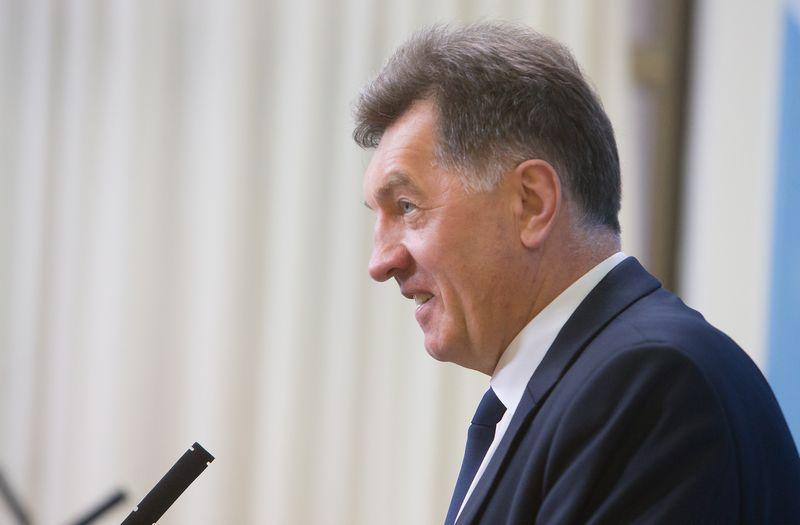 Algirdas Butkevičius, Lietuvos Respublikos ministras pirmininkas. Juditos Grigelytės (VŽ) nuotr.