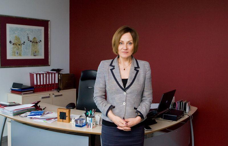 Zita Sarakienė, LNK generalinė direktorė. Juditos Grigelytės (VŽ) nuotr.