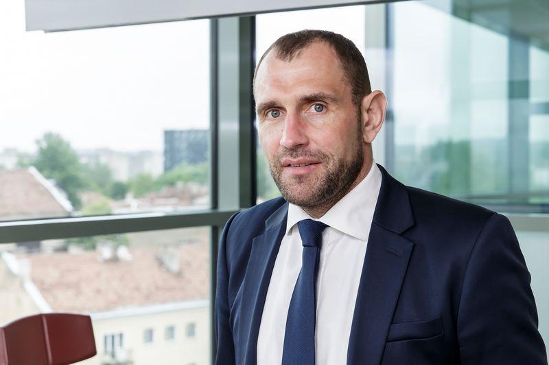 """Darius Šulnis, investicijų AB """"Invalda LT"""" prezidentas. Vladimiro Ivanovo (VŽ) nuotr."""