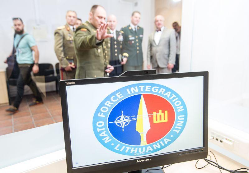Lietuvoje steigiamoas NATO štabas  – NATO pajėgų integravimo vienetas (NPIV). Juditos Grigelytės (VŽ) nuotr.