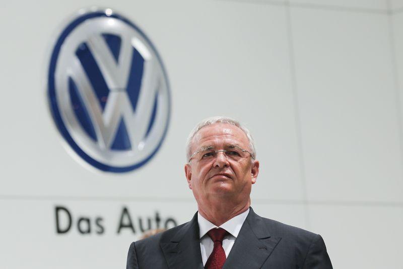 """Martino Winterkorno, """"Volkswagen AG"""" vykdomojo direktoriaus, darbo sutartį siūloma pratęsti iki 2018 m. pabaigos. """"Reuters"""" nuotr."""