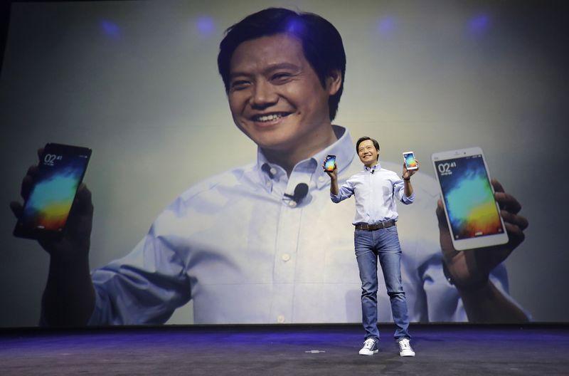 """Lei Jun, """"Xiaomi"""" įkūrėjas ir vadovas. Jasono Lee (""""Reuters"""" / """"Scanpix"""") nuotr."""