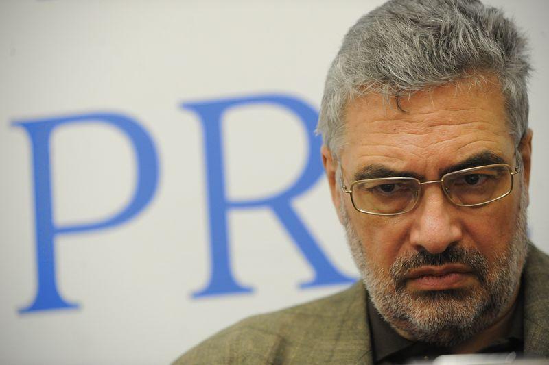 """""""Kol Rusija įstrigusi Ukrainoje, kitur agresijos nebus"""", – teigia karybos ekspertas Pavelas Felgengaueris. ITAR-TASS nuotr."""