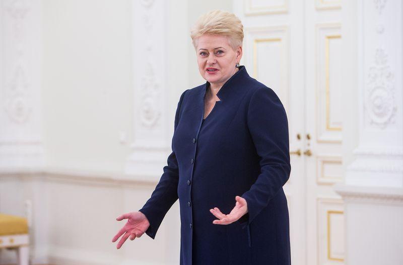 Lietuvos Respublikos Prezidentė Dalia Grybauskaitė. Juditos Grigelytės (VŽ) nuotr.