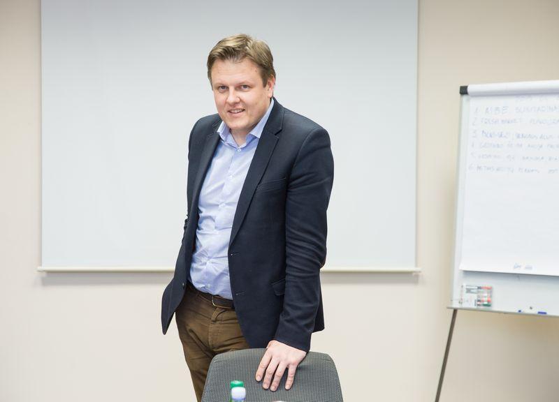 """Darius Šiaudinis, """"Vilniaus degtinės"""" rinkodaros vadovas: """"Patys savo jėgomis palengva auginome """"Shotkos"""" eksporto apimtį, tačiau grupė atveria gerokai platesnius vandenis.""""  Juditos grigelytės (vŽ) nuotr."""