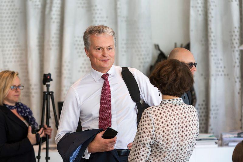 SEB banko prezidento patarėjas Gitanas Nausėda. Vladimiro Ivanovo (VŽ) nuotr.