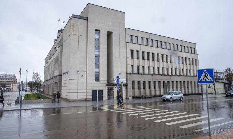 Alytaus miesto savivaldybės administracinis pastatas. Vladimiro Ivanovo (VŽ) nuotr.