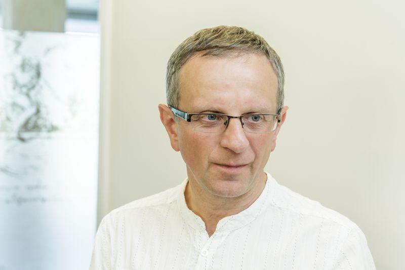 Gintaras Vilda, Lietuvos inžinerinės pramonės  asociacijos (LINPRA) direktorius.  Vladimiro Ivanovo (VŽ) nuotr.