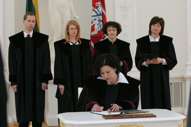 Edita Dambrauskienė. Džojos Gundos Barysaitės (Prezidentūros) nuotr.