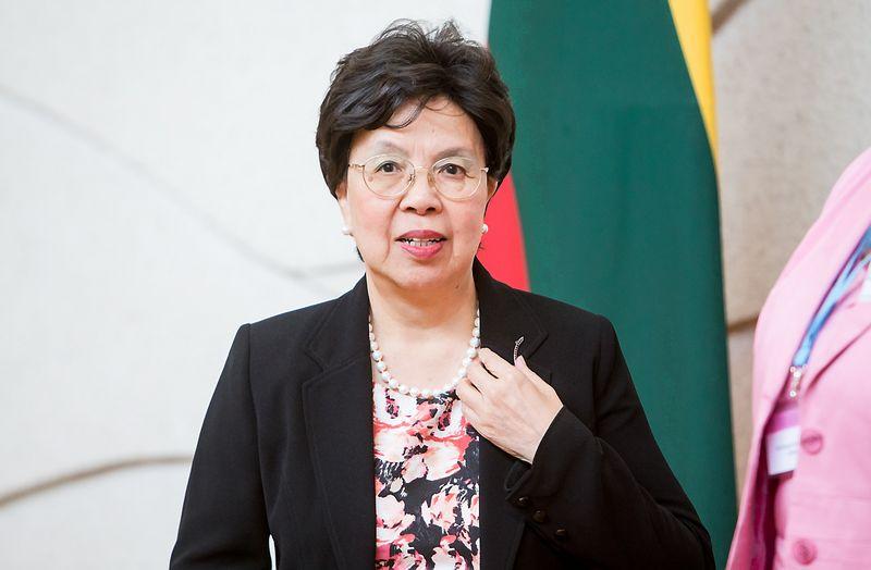 Margaret Chan, PSO generalinė direktorė. Juditos Grigelytės (VŽ) nuotr.