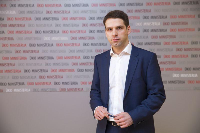 Gediminas Onaitis, už VVĮ valdymo politiką atsakingas ūkio viceministras žada aiškintis, kodėl buvo vilkinamas valdybų narių atrankos procesas. Vladimiro Ivanovo (VŽ) nuotr.