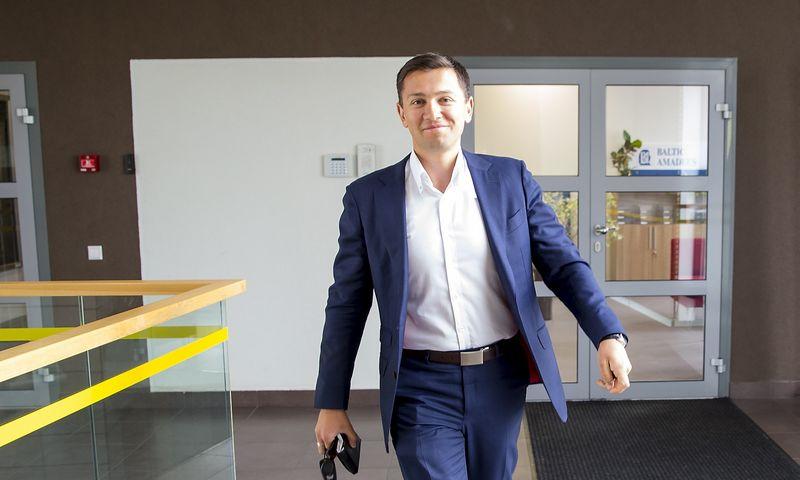 """Andžej Šuškevič, informacinių technologijų UAB """"Baltic Amadeus"""" generalinis direktorius. Vladimiro Ivanovo (VŽ) nuotr."""