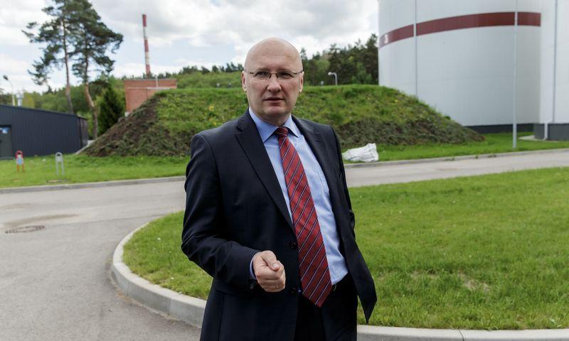 """Valentinas Miltienis, buvęs UAB """"Vilniaus vandenys"""" generalinis direktorius. Vladimiro Ivanovo (VŽ) nuotr."""