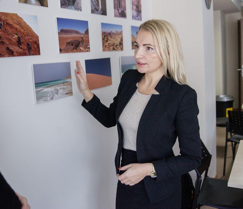 """Indrė Puišė, UAB """"DPD Lietuva"""" generalinė direktorė.  Vladimiro Ivanovo (VŽ) nuotr."""