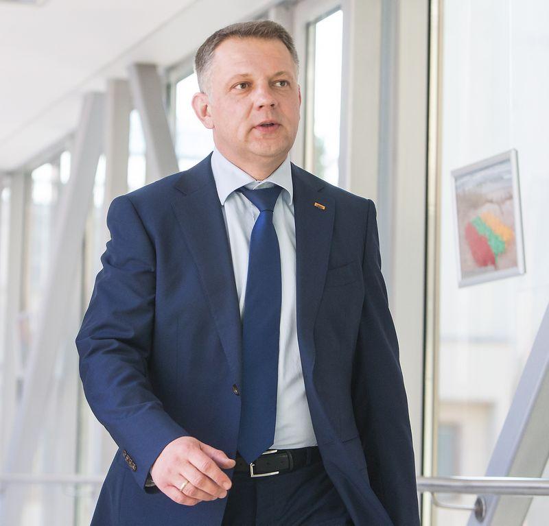 Eligijus Masiulis, Lietuvos Respublikos liberalų sąjūdžio pirmininkas. Juditos Grigelytės (VŽ) nuotr.