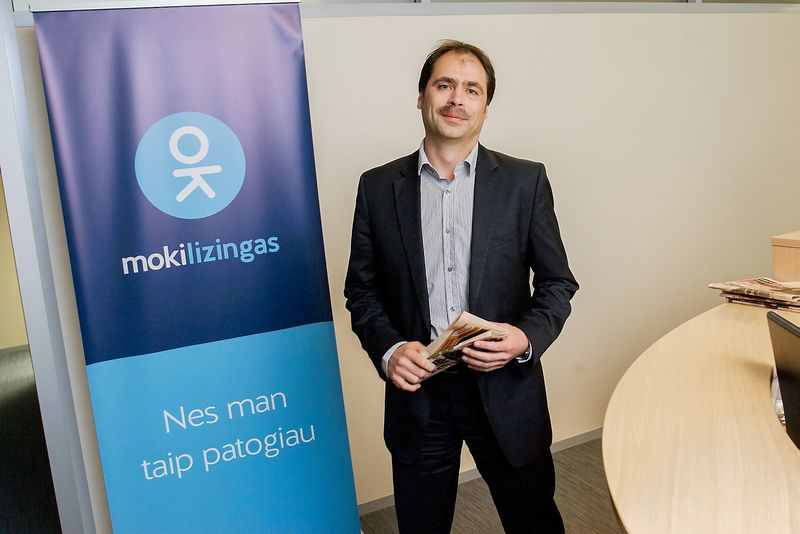 """Jurgis Rubaževičius, UAB """"Mokilizingas"""" generalinis direktorius. Vladimiro Ivanovo (VŽ) nuotr."""