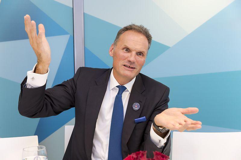 """Klausas-Andersas Nysteenas, """"Lindorff"""" vadovas. Vladimiro Ivanovo (VŽ) nuotr."""