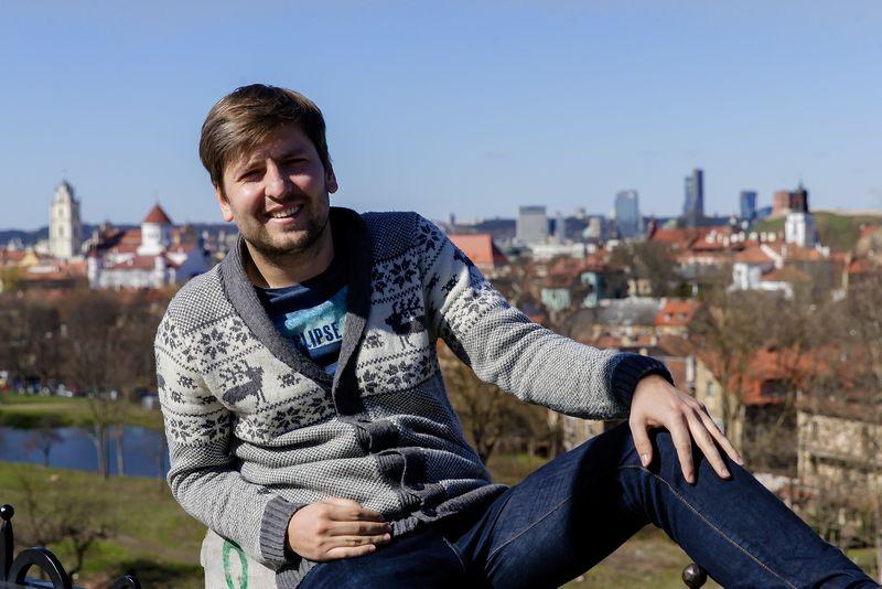 """Šarūnas Legeckas, UAB """"CodeIn"""", valdančios interneto portalą """"KurGyvenu.lt"""", vadovas. Vladimiro Ivanovo (VŽ) nuotr."""