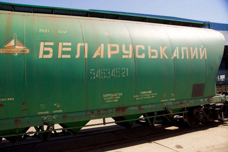 """Algimanto Kalvaičio nuotr. """"Ferteksos transportas"""" augo 170% dėka trąšų srauto iš Baltarusijos ir tranzito iš Azijos šalių."""