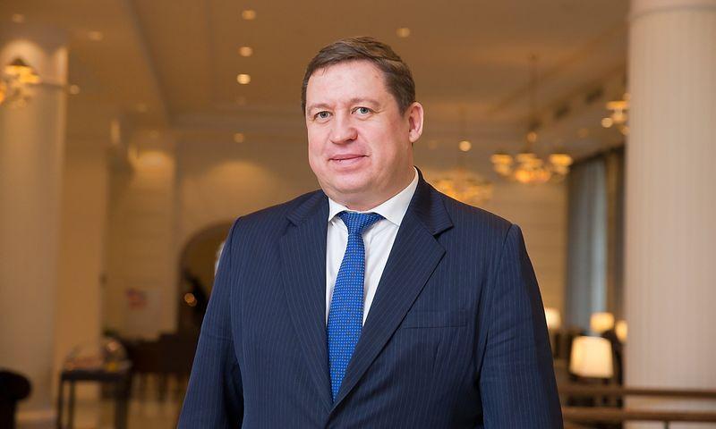 Raimundas Karoblis, ambasadorius, Lietuvos nuolatinis atstovas Europos Sąjungoje. Juditos Grigelytės (VŽ) nuotr.