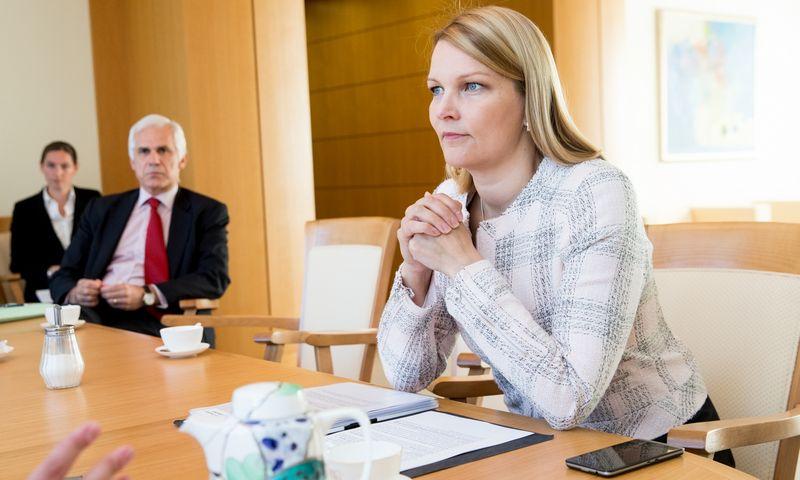 Mari Kiviniemi, Europos bendradarbiavimo ir plėtros organizacijos generalinio sekretoriaus pavaduotoja. Juditos Grigelytės (VŽ) nuotr.